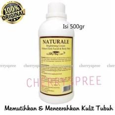 Naturale Bleaching Body Whitening Cream Losion Tubuh Memutihkan Kulit Sehat Berseri Isi 500gr