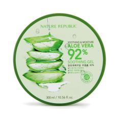 Spesifikasi Nature Republic Aloe Vera 92 Soothing Gel Yang Bagus Dan Murah