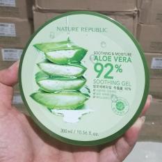 Spesifikasi Nature Republic Aloevera Gel Original Korea 300Ml Yg Baik