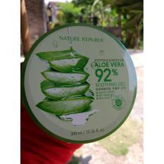 Toko Nature Republic Aloe Vera Soothing Moisture 100 Original Import Korea North Sumatra