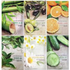 Diskon Beautilicious Square Nature Rep Mask Sheet Buy 5 Get 1 Free Bundle A Branded