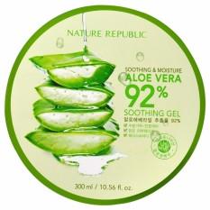 Beli Nature Republic Soothing Moisture Aloe Vera 92 Soothing Gel 300Ml Original Terbaru
