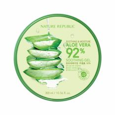 Cuci Gudang Nature Republic Soothing Moisture Aloe Vera 92 Soothing Gel 300Ml