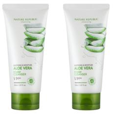 Harga Nature R Soothing Moisture Aloe Vera Foam Cleanser 150Ml Original