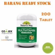Nature's Way Multivitamin WIth Spirulina - 200 Tablet