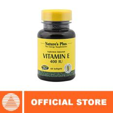 Beli Nature S Plus Vitamin E 400 Iu 60 Softgels Pakai Kartu Kredit