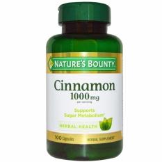 Toko Nature S Bounty Cinnamon 1000 Mg 100 Kapsul Nature S Bounty Online