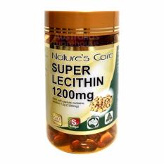 Harga Nature S Care Lecithin 1200Mg 200 Count Fullset Murah