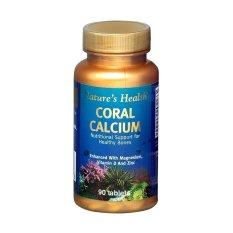 Toko Nature S Health Coral Calcium 90 Tab Termurah Di Jawa Barat