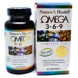 Toko Nature S Health Fish Oil Omega 3 6 9 Minyak Ikan 369 100 Softgel Lengkap
