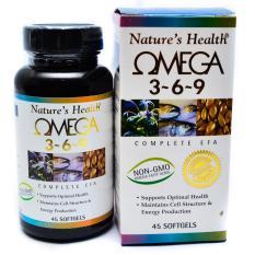 Harga Nature S Health Fish Oil Omega 3 6 9 Minyak Ikan 369 100 Softgel Online Dki Jakarta