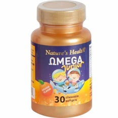 Spesifikasi Nature S Health Omega Junior 30 Chewable Softgels Murah Berkualitas