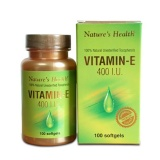 Jual Nature S Health Vitamin E 400 Iu 100 Softgels Untuk Kesehatan Kulit Murah Jawa Barat