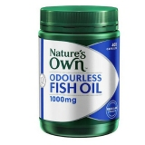 Ulasan Mengenai Nature S Own Fish Oil Odourless 400 Kapsul