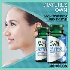 Natures Own High Strength Milk Thistle 35000mg 60 kapsul