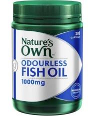 Harga Natures Own Odourless Fish Oil Minyak Ikan 200 Kapsul Baru Murah