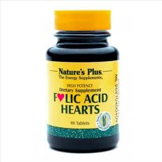 Beli Nature S Plus Folic Acid Hearts 90 S Suplemen Jantung Vitamin Wanita Hamil Mencegah Anemia Suplemen Kehamilan Pakai Kartu Kredit