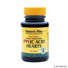 Ulasan Lengkap Nature S Plus Folic Acid Hearts Isi 90 Softgels