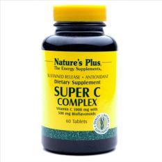 Harga Nature S Plus Super C Complex Sustained Release 60 S Vitamin C 1000 Mg Meningkatkan Daya Tahan Tubuh Kekebalan Tubuh Imunitas Antioksidan Kolagen Mencegah Flu Nature S Plus Original