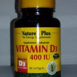 Situs Review Nature S Plus Vit D3 400 Iu Isi 90 Softgel