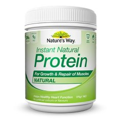 Natures Way Instant Natural Protein Natural 375G Weight Loss Dan Otot Asli