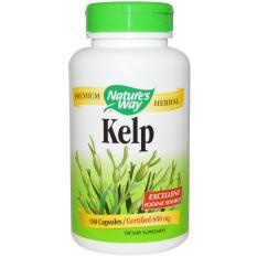 Nature's Way, Kelp, 600 mg, 180 Veggie Capsules