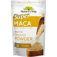 Toko Natures Way Superfood Maca Tingkatkan Stamina Dan Energi 100 Gram Dekat Sini