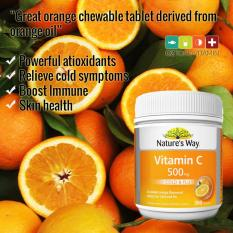 Natures Way Vitamin C 500 Mg 300 Tablet Stamina Dan Daya Tahan Tubuh Natures Way Diskon 40