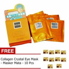 Top 10 Naturgo Masker Lumpur 10 Pcs Gratis Collagen Crystaleye Mask 10 Pcs Online