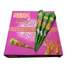 Review Neha Cone Maroon Strong Colour Spesial Edition 12Pcs Jawa Barat