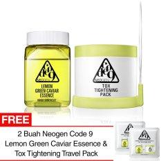 Neogen Code 9 Lemon Green Caviar Essence With Tox Tightening Pack Green Original