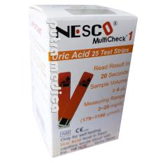 Nesco Multicheck 1 Strip Urid Acid / Asam Urat - Isi 25