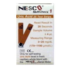 Jual Nesco Multicheck Strips Uric Acid Asam Urat Dki Jakarta