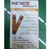 Jual Nesco Multicheck Uric Acid Strip Isi 25 Branded Original