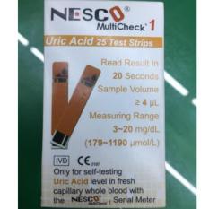 Harga Nesco Multicheck Uric Acid Strip Isi 25 Nesco Dki Jakarta