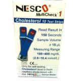 Toko Nesco Refill Strip Kolesterol 10 Biru Nesco