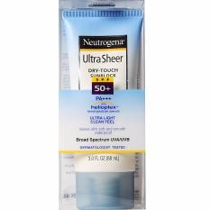 Neutrogena Ultra Sheer Dry Touch sunscreen sunblock SPF 50 / 50+