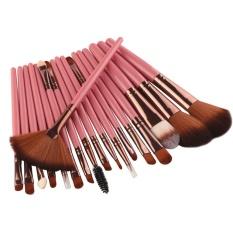 Jual Baru 18 Pcs Makeup Brush Set Alat Make Up Toiletry Kit Wol Make Up Brush Set Pk Intl Tiongkok Murah