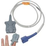 Beli New Arrival Spo2 Sensor Soft Tip For Nellcor Oximeter Ds100A *D*Lt Finger Clip 9 Pin Cable Intl Murah Di Tiongkok