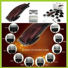 New Electric Hair Clipper Profesional Hair Trimmer untuk Pria Baby10limit Sisir Stainless Steel Mesin Pemotong Rambut Barber Alat-Internasional