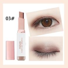 Jual Beli Baru Gradien Dua Warna Eye Shadow Stick Shimmer Palet Eye Cream Pen Baru Tiongkok