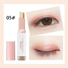 Harga Baru Gradient Dua Warna Eye Shadow Stick Shimmer Palet Eye Cream Pen Online