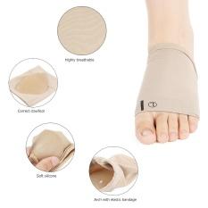Dapatkan Segera New Plantar Fasciitis Arch Support Sleeve Cushion Heel Spurs Hel Neuromas Flat Feet Massage Orthotic Insole Pad 2 Pcs Intl