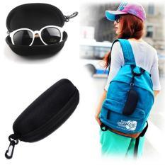 Promo New Universal Zipper Sunglasses Hard Case Box Outdoor Protector Holder Intl Aukey