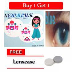 Newbluk Softlens Lensa Kontak Grey Buy 1 Get 1 Free Lenscase Jawa Barat Diskon
