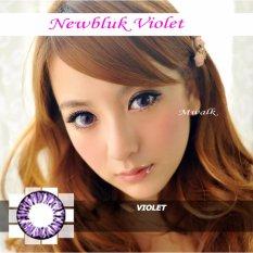 Newbluk Softlens - Violet + Gratis Lenscase