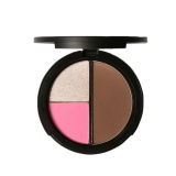 Newworldmall Focallure 3 Warna Face Contour Memperindah Powder Blusher Tahan Lama Tahan Air Warna 1 Intl Asli