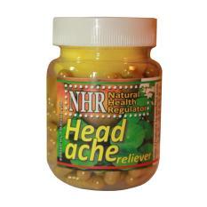 Nhr Headache Reliever Migraen Vertigo Sakit Sepala Sebelah Nhr Diskon