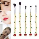 Beli Niceeshop 5 Pcs Beauty And The Beast Rose Bunga Makeup Brushes Set Lip Mata Brushes Untuk Kosmetik Alat Internasional