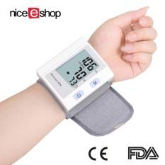 Harga Niceeshop Clinical Automatic Wrist Blood Pressure Monitor Fda Approved With Large Screen Display Portable Case Perfect Gift For Patrents Intl Niceeshop Baru